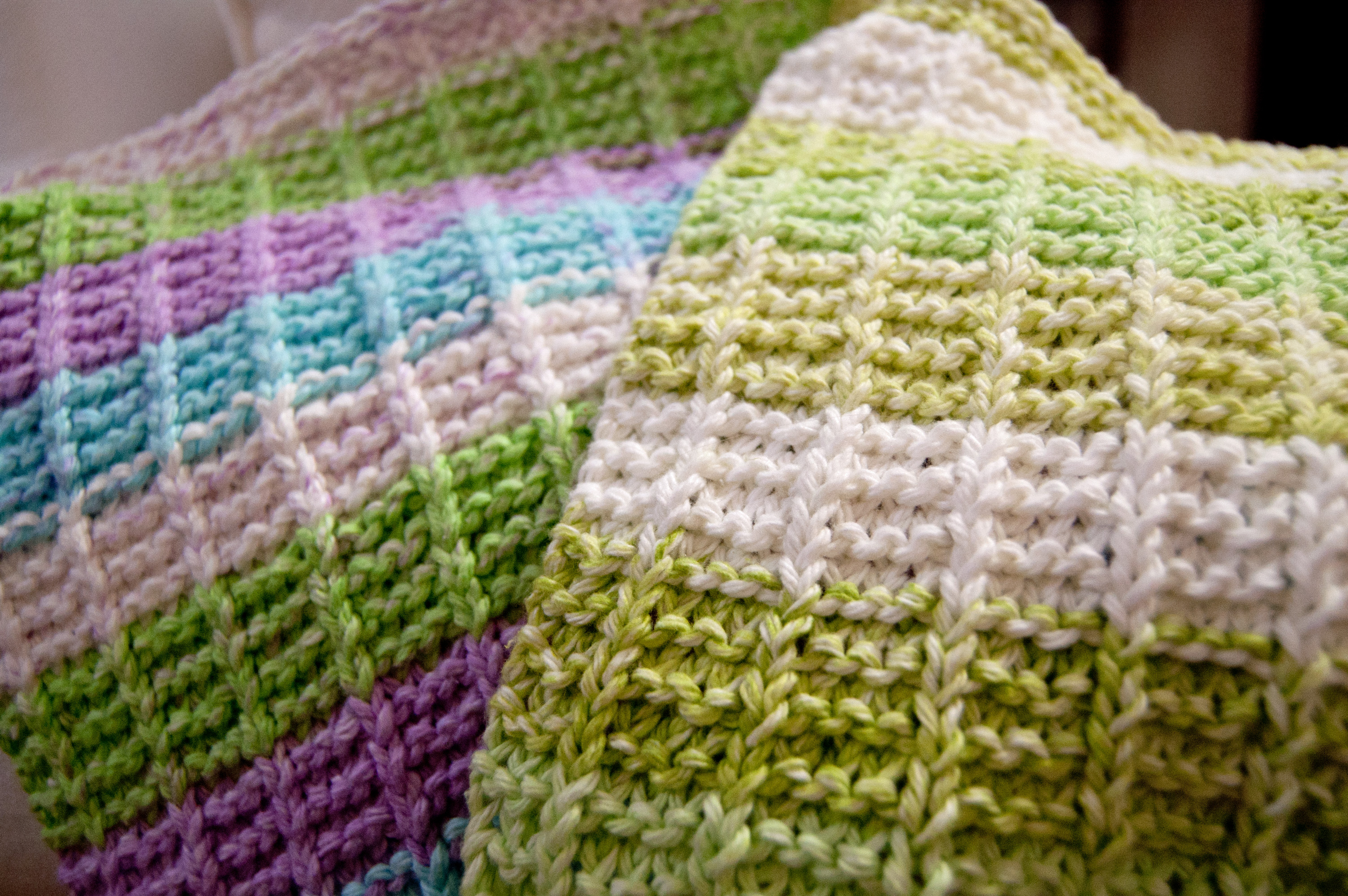 Free Bag Knitting Patterns For Beginners : How To Knit A Bag For Beginners