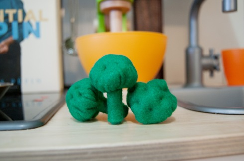 Felt Food Broccoli