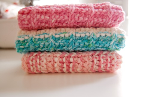 ProjectFour14:  My Favorite Knit Washcloth
